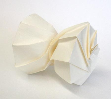 3D Paper Origami by Jun Mitani