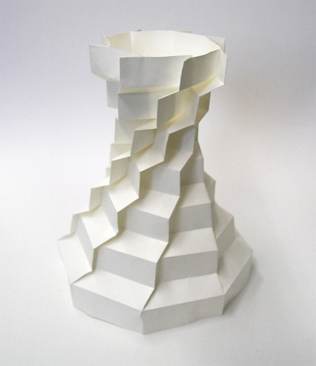 3D Paper Sculpture by Jun Mitani