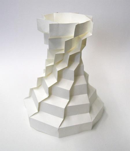 3D Paper Sculpture by Jun Mitani