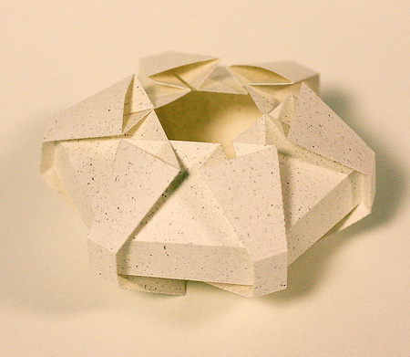 3D Paper Sculptures by Jun Mitani