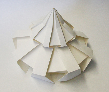 Paper Sculpture by Jun Mitani