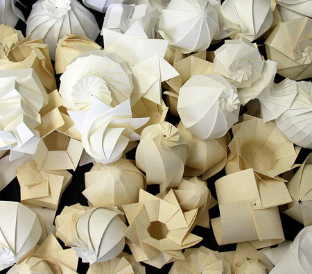 Paper Sculptures by Jun Mitani