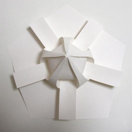 3D Paper Art by Jun Mitani