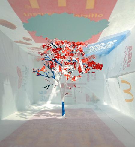 McDonalds Paper Bag Tree