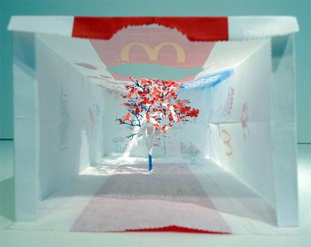 McDonalds Bag Tree