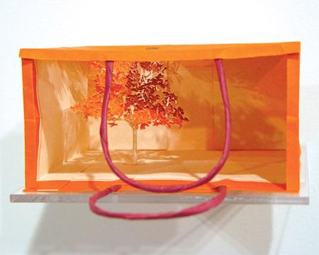 Paper Bag Trees by Yuken Teruya