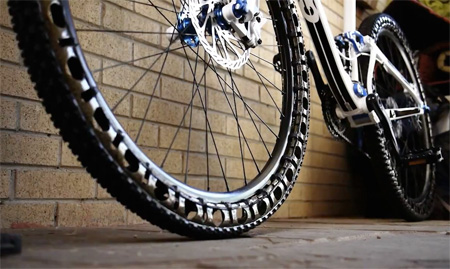 Airless Bicycle Tire
