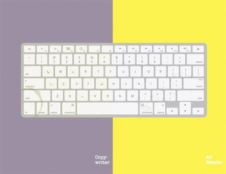 Copywriter versus Art Director