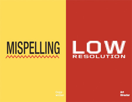 Copywriter vs Art Director Posters