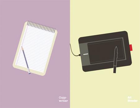 CW vs AD Illustrations