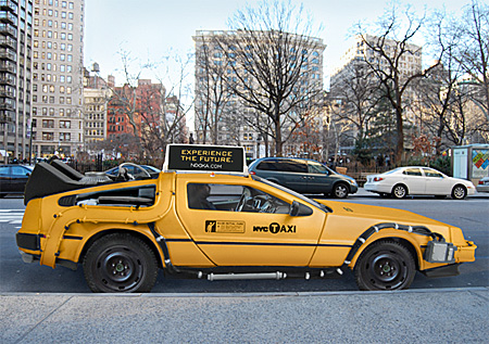 DeLorean Time Machine Taxi