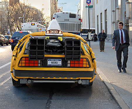 Back to the Future Taxi