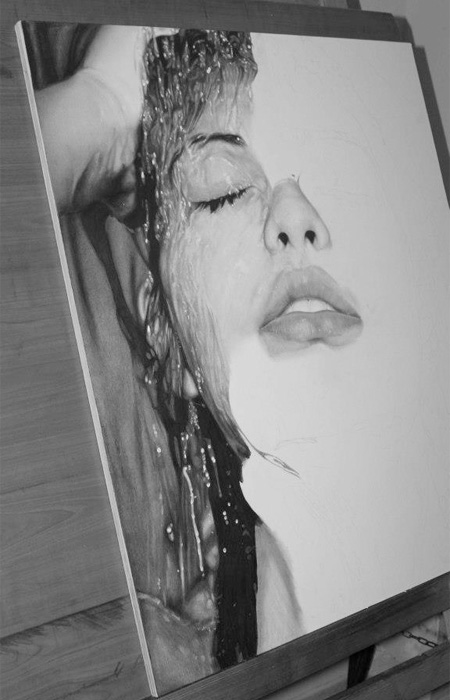 Photorealistic Pencil Drawing by DiegoKoi
