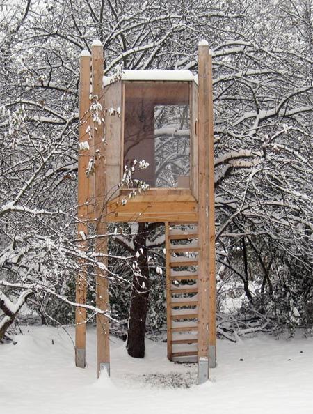 Freestanding Tree House