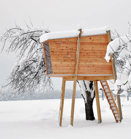 Free Standing Treehouse