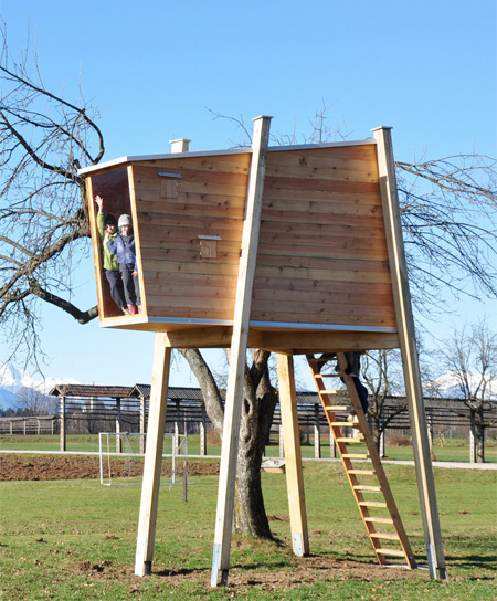 Freestanding Treehouse