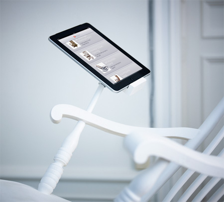 iPad Dock Rocking Chair