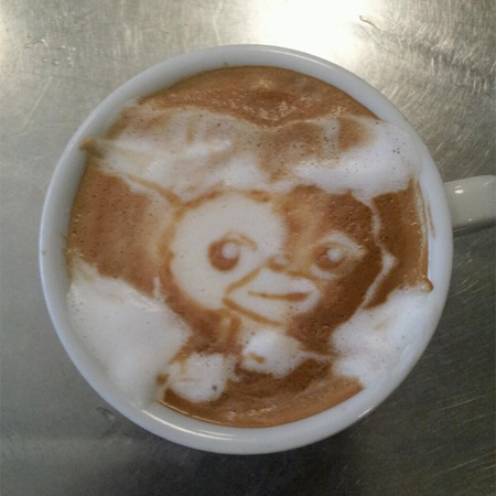 Gizmo Coffee Art