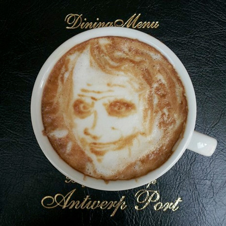Joker Coffee Art