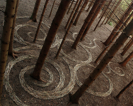 Land Art by Sylvain Meyer