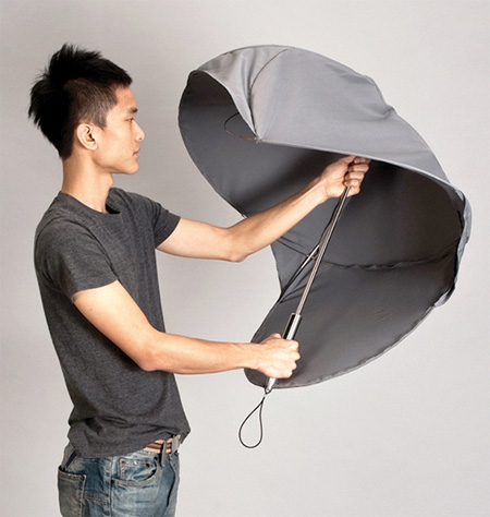 Shield Inspired Umbrella