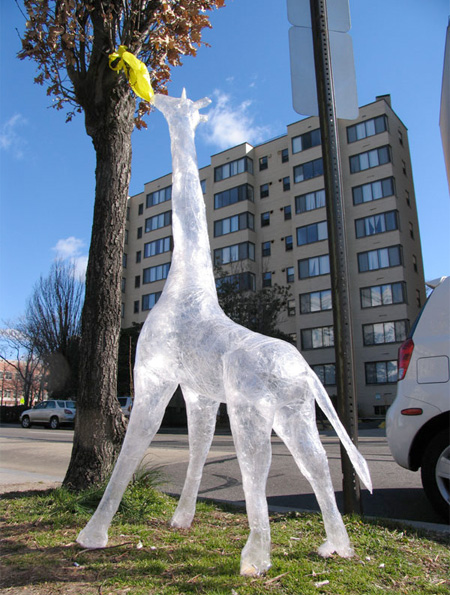 Packing Tape Sculpture