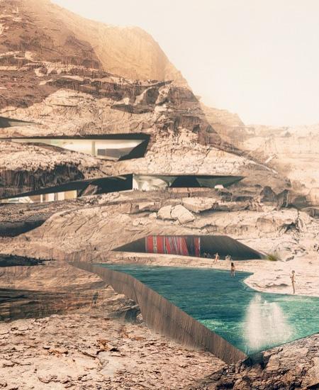 Resort in a Desert