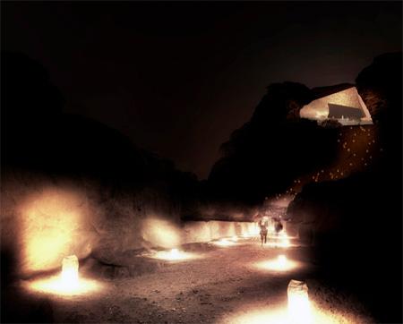 Hotel in a Desert
