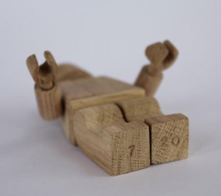 Wooden LEGO Figures