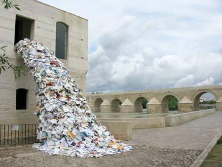 Book Waterfall