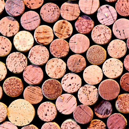 Wine Cork Portrait