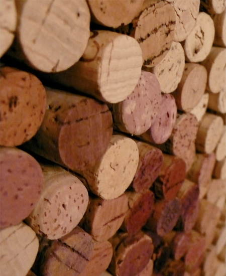 Wine Cork Art by Scott Gundersen