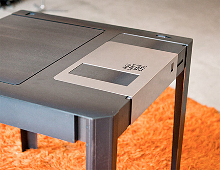 Diskette Table