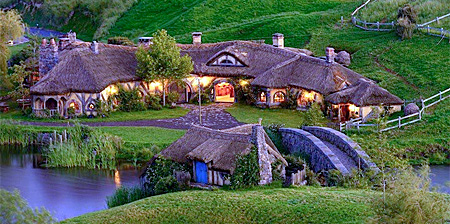Hobbit Pub in New Zealand