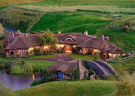 Hobbit Bar in New Zealand