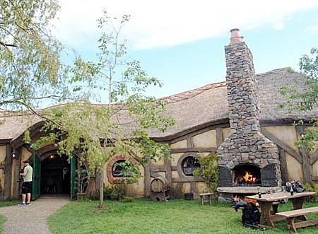 Hobbit Cafe in New Zealand