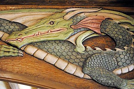 The Green Dragon Pub