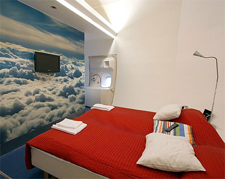 Airplane Hotel in Stockholm