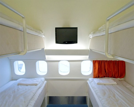 Boeing 747 Airplane Hotel