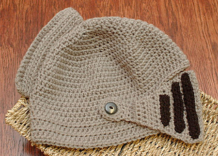 Knight Helmet Winter Hat