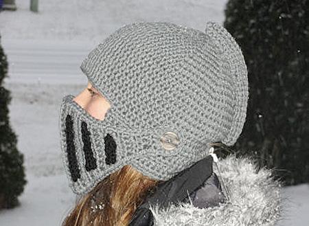 Modern Knight Helmet