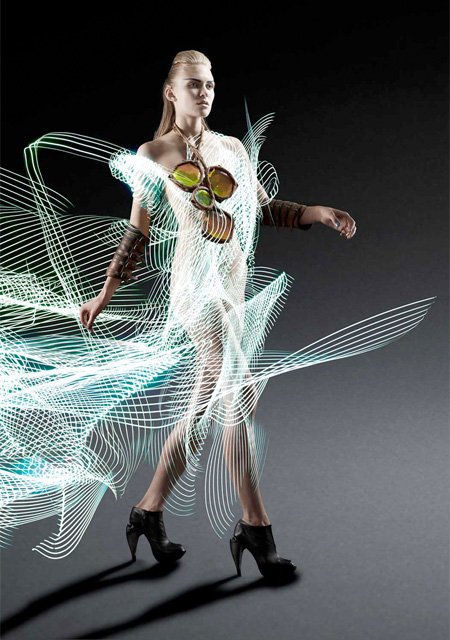 Light Painted Fashion