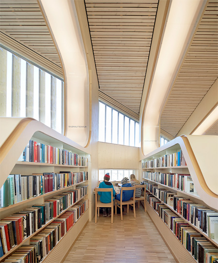 Vennesla Library by Helen and Hard