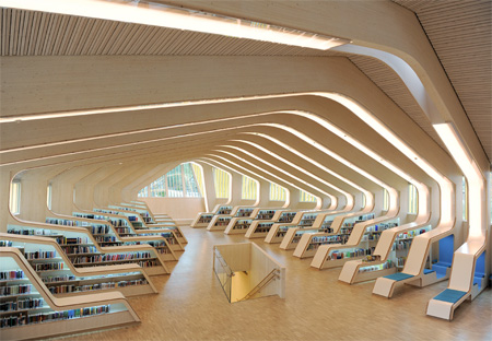 Library in Norway