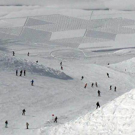 Simon Becks Snow Art