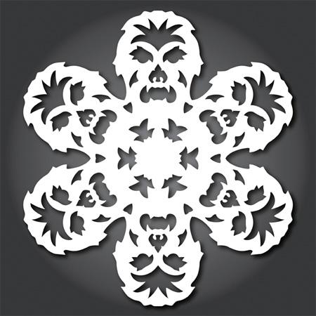 Chewbacca Snowflakes