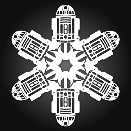 R2-D2 Snowflakes
