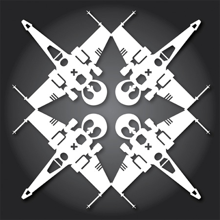 X-Wing Snowflakes