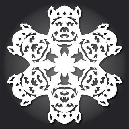 Ewok Snowflakes