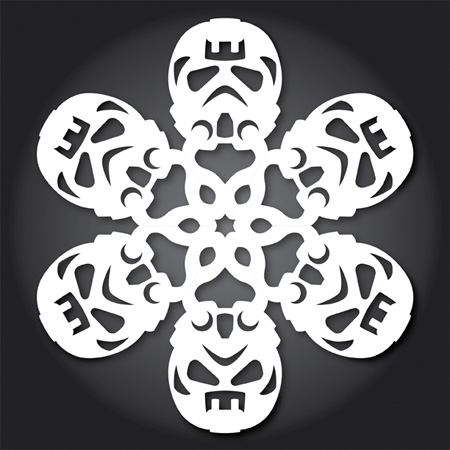 Fighter Pilot Snowflakes